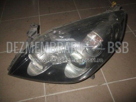 Far Xenon stanga negru Opel Vectra C, Signum 93185615, 13170940 Ident.: LZ