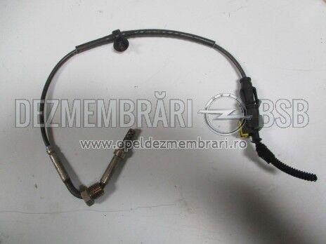 Senzor de temperatura filtru de particule Opel Corsa D, Meriva B 1.7 CDTi 55574938 pozitie 1