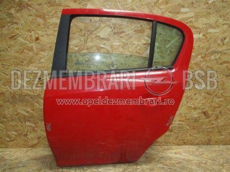 Usa goala stanga spate Opel Corsa D 11042