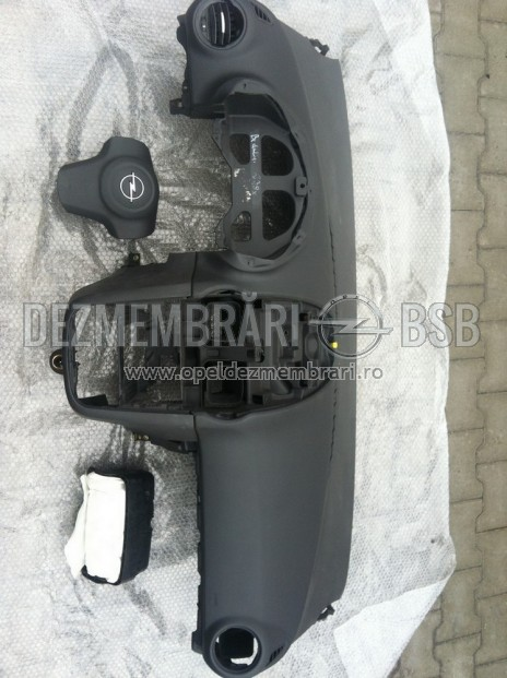 Kit airbag pentru Opel Corsa D negru