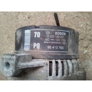 Alternator 1.6 X16SZR X16XEL Y16XE Z16XE 70 AMPER OPEL VECTRA B BOSCH 0123120001 PQ