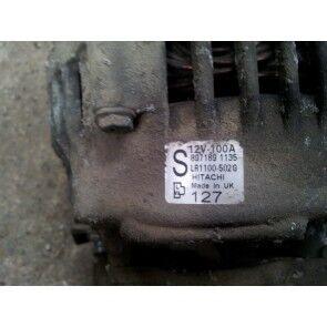 Alternator 1.7 CDTI Z17DTL Z17DTH 100 AMPER OPEL ASTRA H CORSA COMBO MERIVA