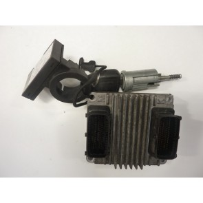 Calculator motor Opel Astra G Z16XE 12214880 DNHP