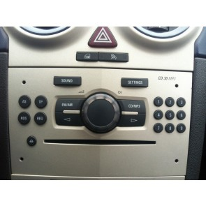 CD 30 MP3 OPEL CORSA D - Delphi Grundig