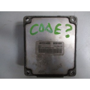 Calculator motor Opel Astra G 1.7DTI 09391899 Isuzu, 8972314050