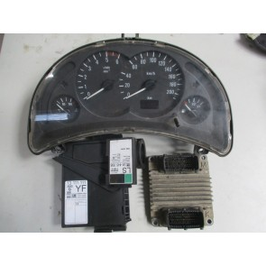 Calculator motor Opel Corsa C 1.7 DTi kit complet Y17DT 8972333707 09391259, 24445095 LS, 13111111 YF, 09166808 FB