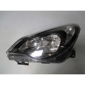 Far stanga negru Opel Corsa D 13446801 A3W