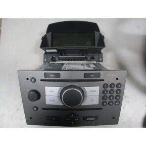 DVD 90 Navi cu Cid Opel Zafira B metalic 13163935, 93183843,93183842,  ident: FS; 13111166, Ident: KS