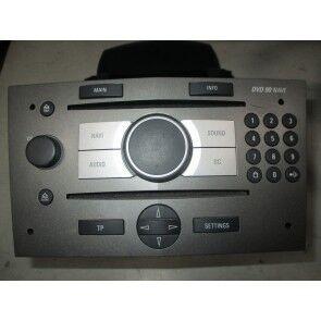 DVD 90 Navi Opel Zafira B metalic 13163935, 93183843,93183842,  ident:FS